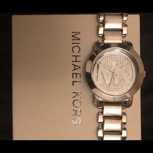 Michael Kors Women's Silver Stainless-Watch